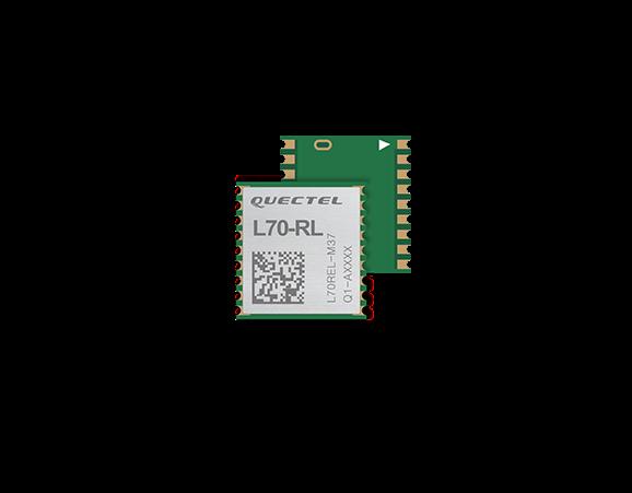GPS module L70-RL + built-in LNA