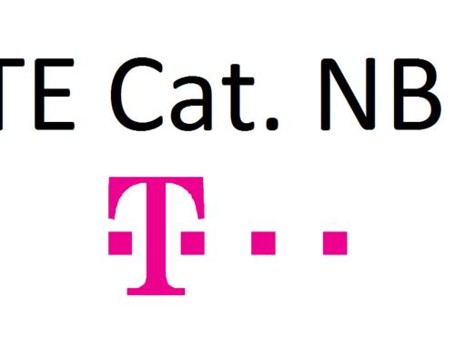 Städteausbau LTE Cat. NB1