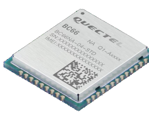 BC66 – Funktionserweitertes, extrem kompaktes Multi-Band-NB-IoT-Modul