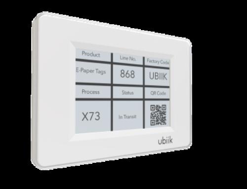 Ubiik innoviert kabellose E-Paper-Displays mittels Reichweitenverlängerung auf über 1km