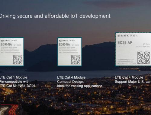Drei neue LTE Module von Quectel