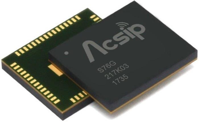 LoRa-Modul S76G von AcSiP