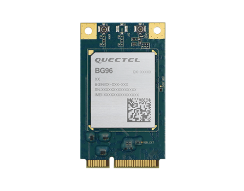 BG96MiniPCIe-S für IoT-Applikationen