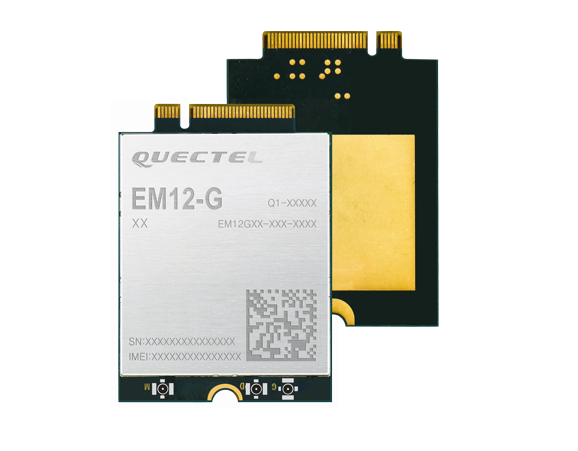 Das Quectel EM12-G Cat 12-Modul