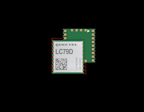 LC79DBMD Dual-Band GNSS Modul