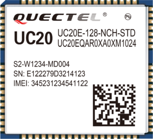 End-of-Line-Meldung für das Quectel UC20-G