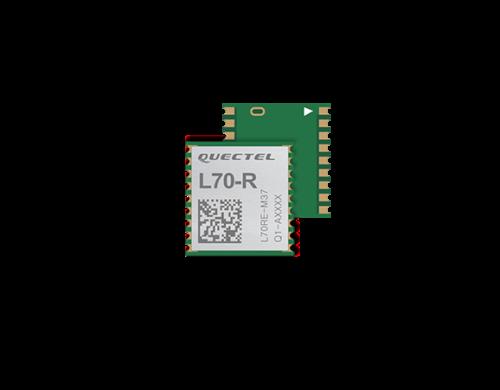 Low-cost GPS module L70-R