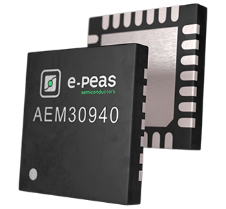 AEM30940–RF Energy Harvesting Power Management IC