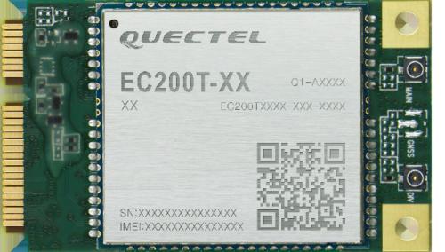 EC200T-MiniPCIe LTE Cat.4-Modul