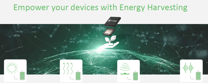 AEM30940 – Energy-Harvesting für IoT-Applikationen