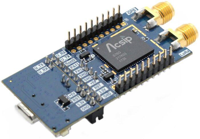 AcSiP EK-S76GXB-Platinen für LoRA 868MHz+GNSS