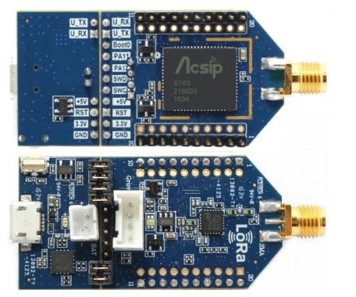 AcSiP EK-S78SXB Evaluation Board für LoRa-Applikationen