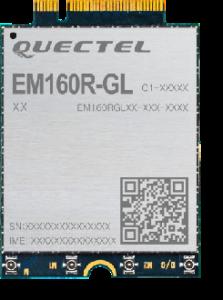 Das LTE-A Cat.16-Modul EM160R-GL von Quectel