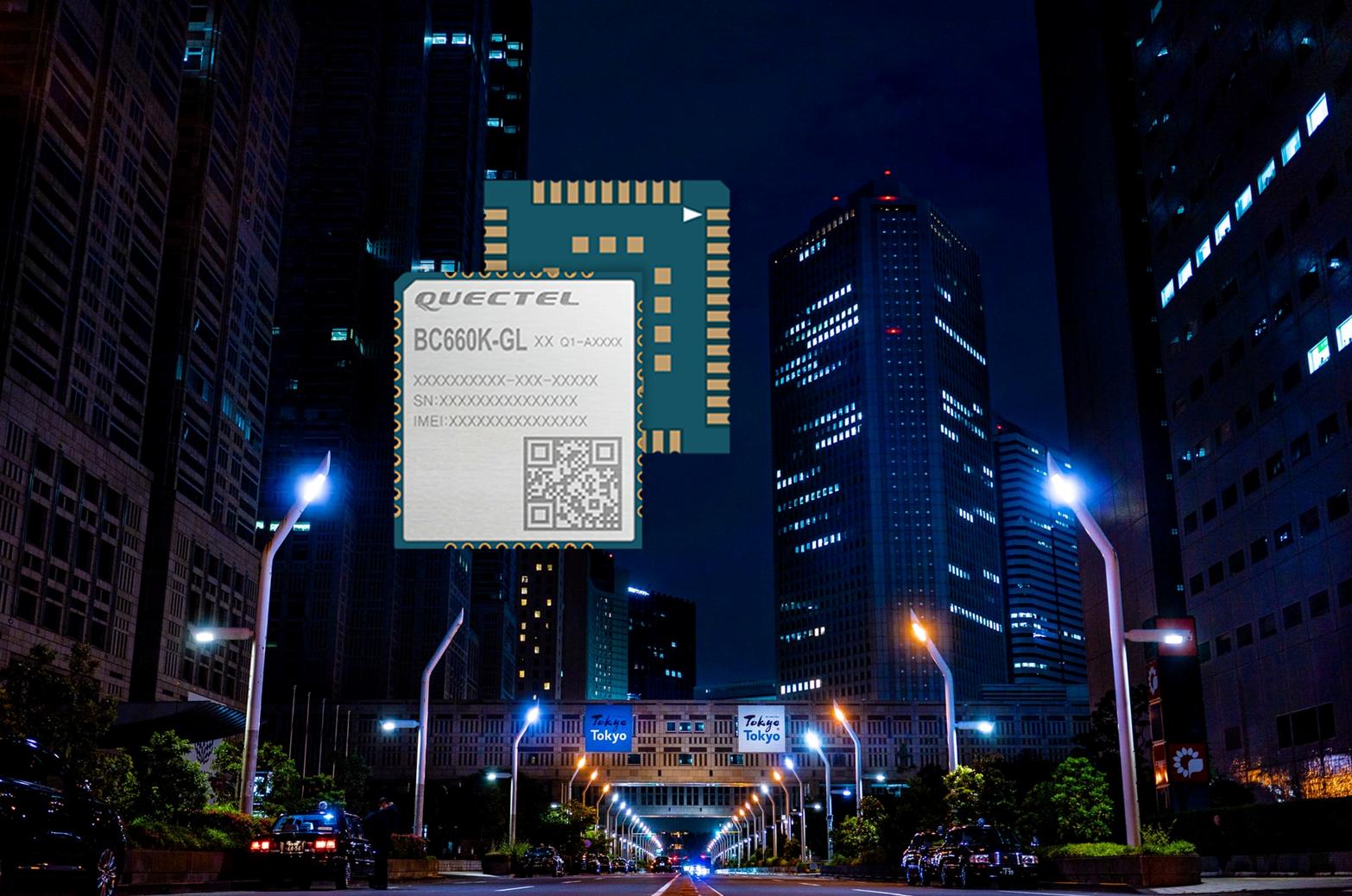 Cat.NB2-Modul BC660K-GL von Quectel