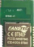 BT840F-Bluetooth-Modul von Fanstel