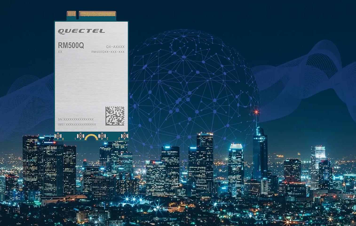 5G-Funkmodul RM500Q von Quectel erhält CE-Zertifizierung