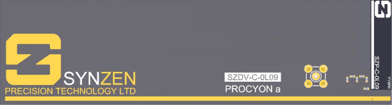 Entwicklungs-Kit für Procyon a von Synzen
