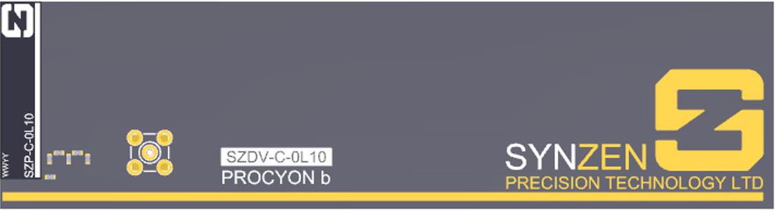 Entwicklungs-Kit Antenne Procyon von Synzen