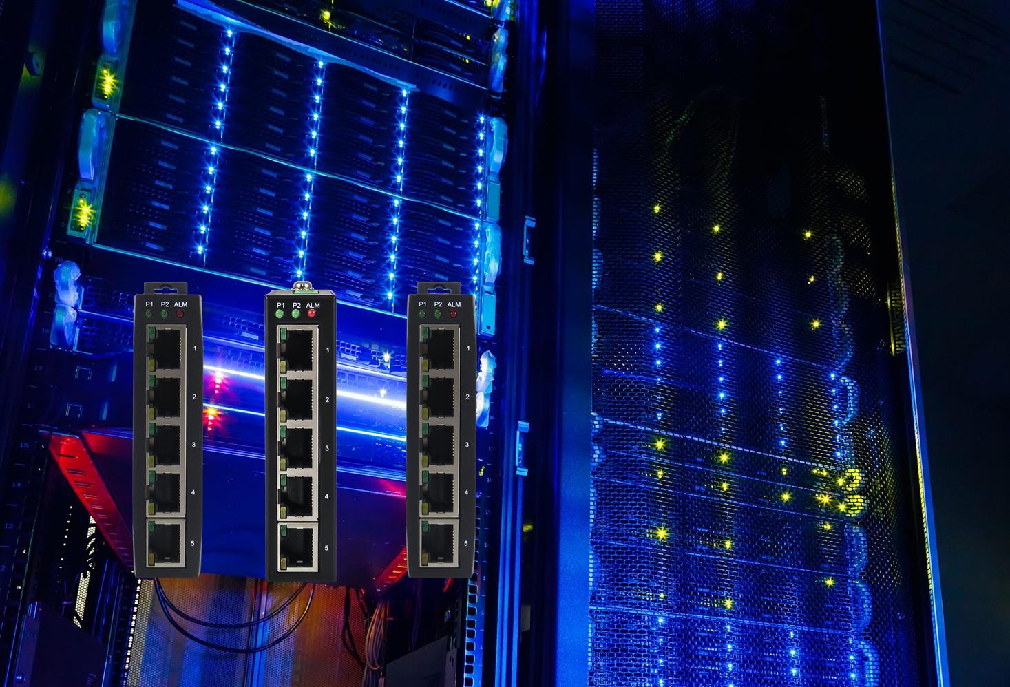 Unmanaged Switches von Atop