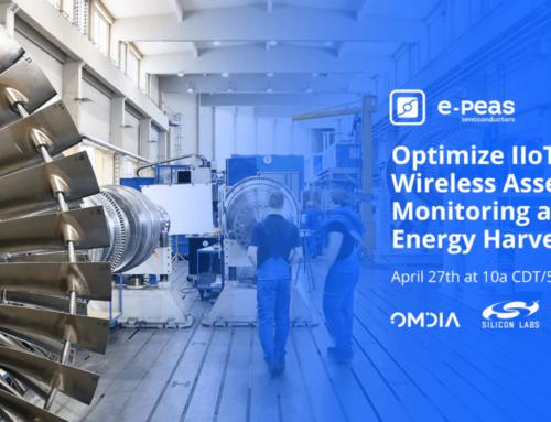 Webinar – IIoT optimieren dank Wireless Asset Monitoring und Energy Harvesting