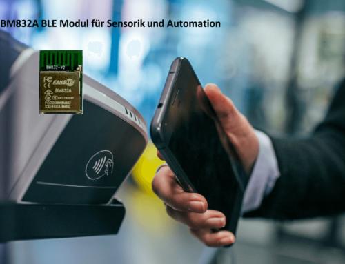 BM832A: Preissensitives und sehr flexibles Bluetooth Funkmodul mit Nordic nRF52 SoC
