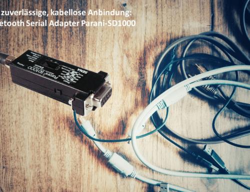 Zuverlässige Wireless-Anbindung, jederzeit: Bluetooth Adapter Parani-SD1000 von Sena