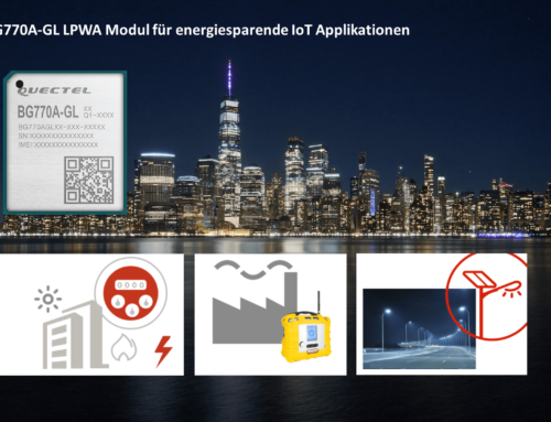 Extrem sparsam, sehr sicher – das neue LPWA Modul BG770A-GL (+ Marktstart-Aktion)
