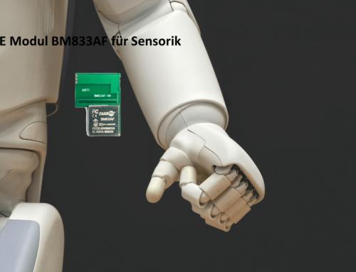 Bluetooth Low Energy Modul BM833AF für Long-Range IoT-Applikationen