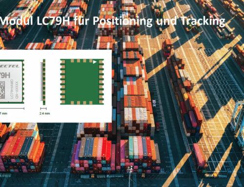 LC79H – Hochleistungs-GNSS Funkmodul für Tracking und Positioning