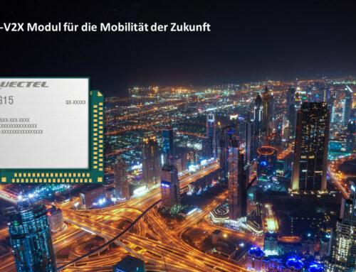 Vehicle-to-Everything (V2X) – AG15 von Quectel für die Zukunft der Mobilität