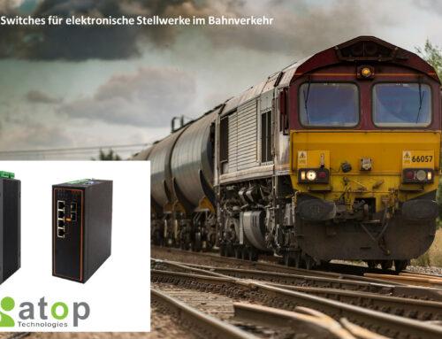 Effiziente Eisenbahn-Signalsysteme: Elektrische Stellwerke mit Atop Switches
