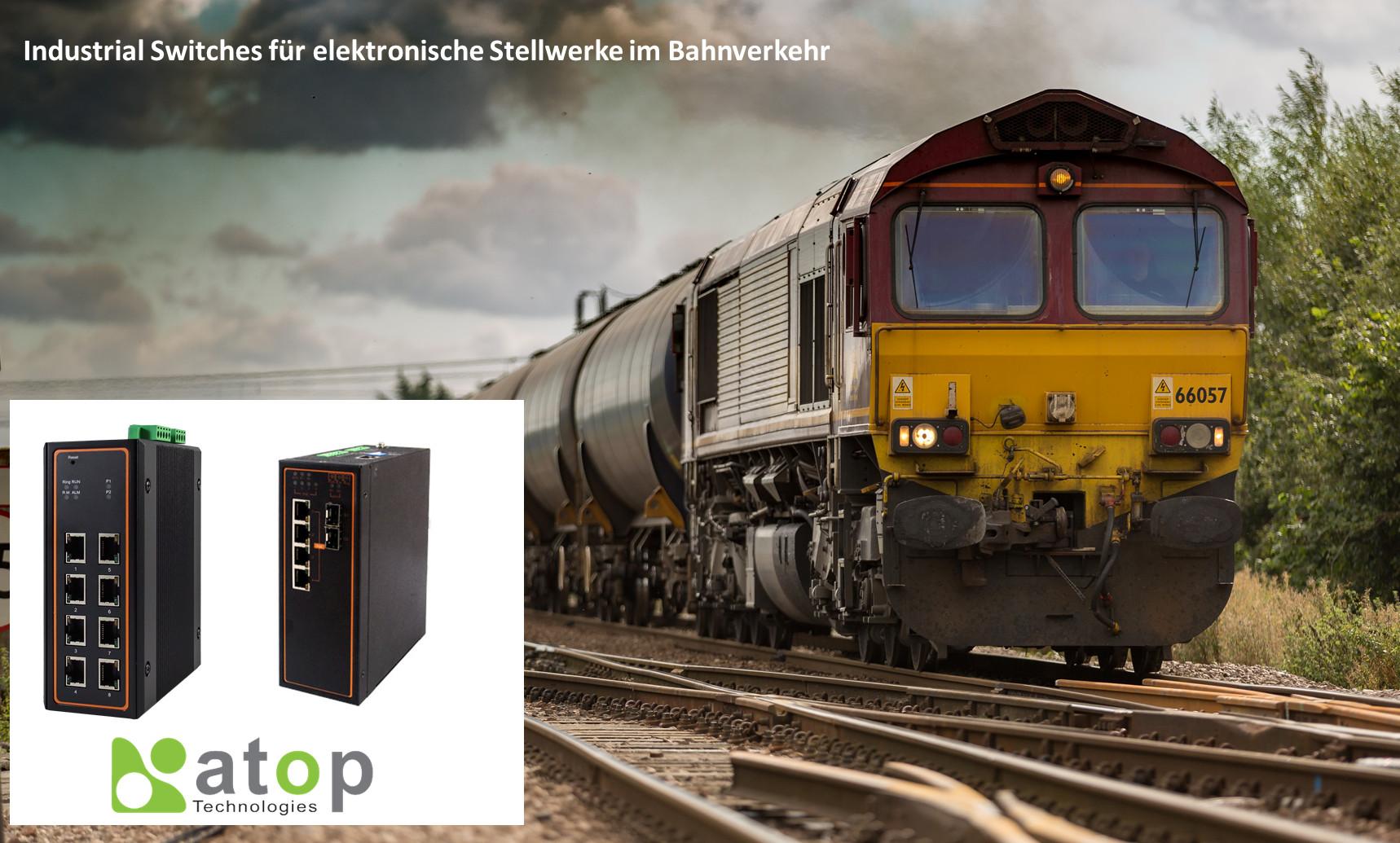 Industrial Managed Switches von Atop