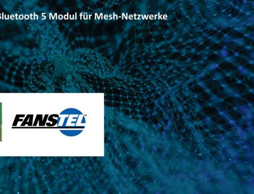 Leistungsfähiges Bluetooth 5 Modul BT840F mit Top-Antenne für Mesh-Netzwerke