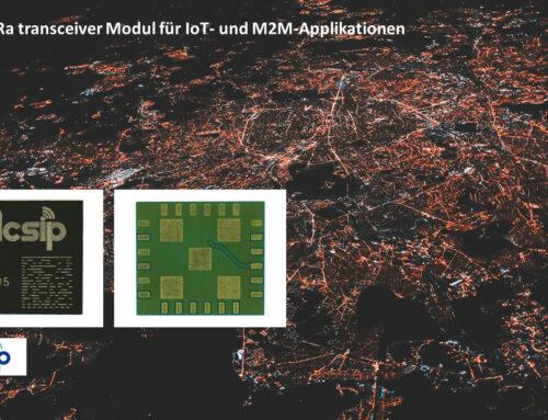 LoRa Modul S62F für IoT – kompakt, hohe Reichweite und wenig störanfällig