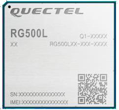 RG500L-EU 5G Sub-6 GHz Modul