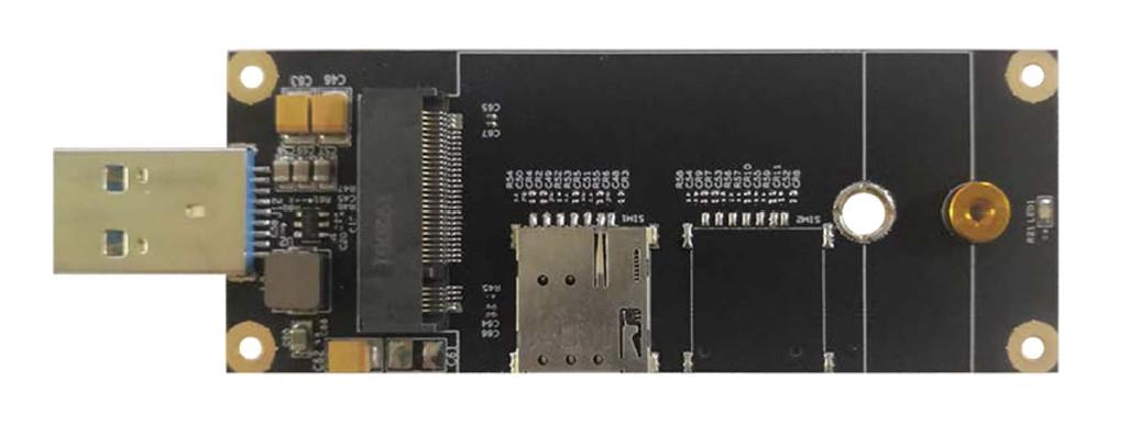 M.2 USB modem carrier board